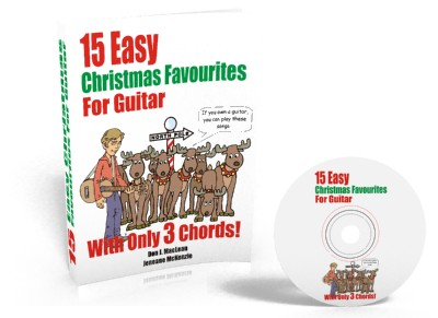 15 Easy Christmas Favourites for Guitar with Just 3 Chords