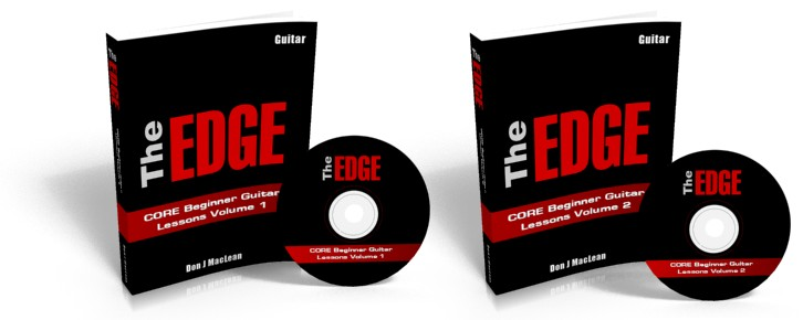The EDGE: CORE Beginner Guitar Lessons