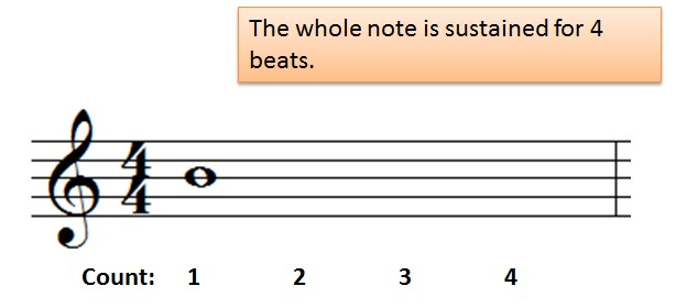 counting whole notes
