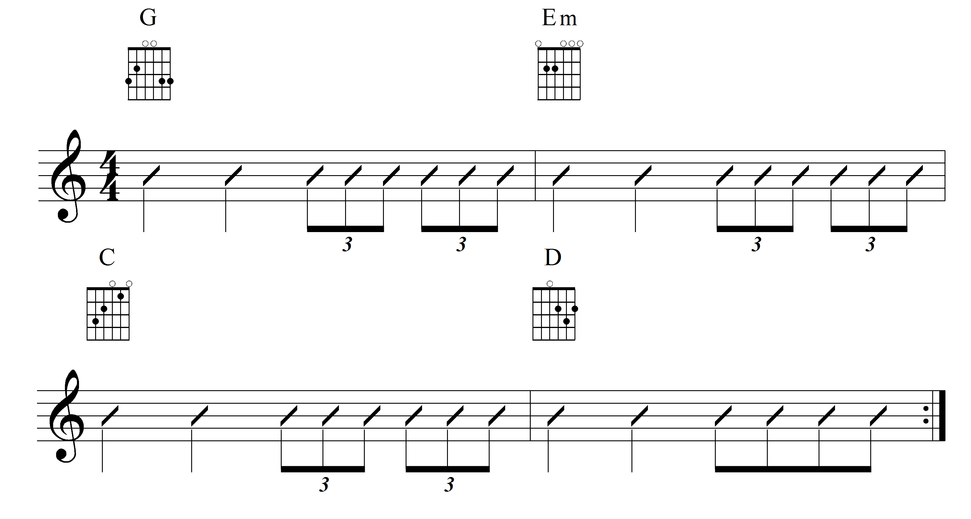 Playing Rhythm Guitar Understanding Triplets Part 3 Guitar