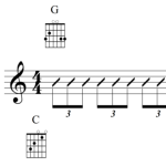 triplets with chords FI