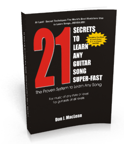 The proven system to learn any guitar song fast