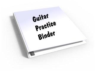 guitar practice binder 1