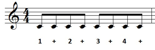 eighth notes ex 2