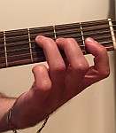 F maj partial barre chord FI
