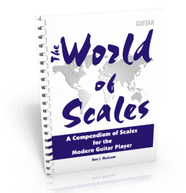 Master Guitar Scales and Theory - The World of Scales: A Compendium of Scales for the Modern Guitar Player